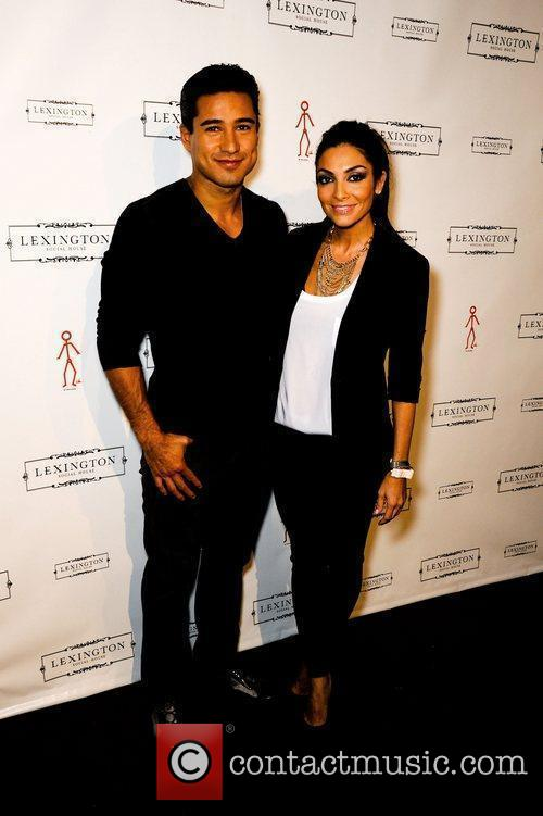 Mario Lopez and Courtney Laine Mazza Lexington Social...