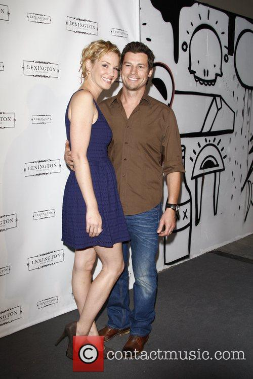 Ashley Scott, husband Steve Hart Lexington Social House...