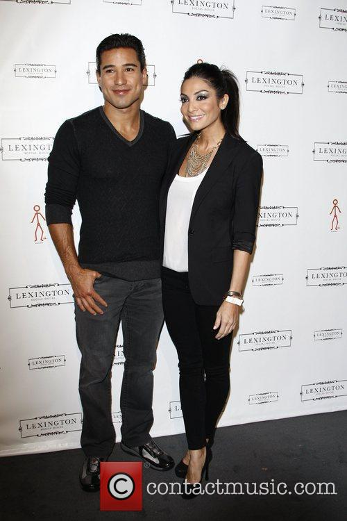 Mario Lopez, Courtney Mazza  Lexington Social House...