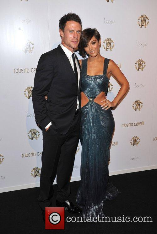 Frankie Sandford, Wayne Bridge and London Fashion Week 3