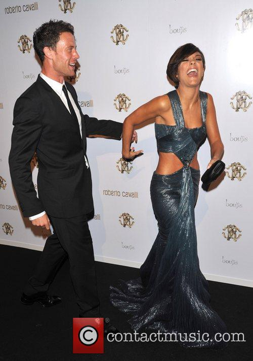 Frankie Sandford, Wayne Bridge and London Fashion Week 6