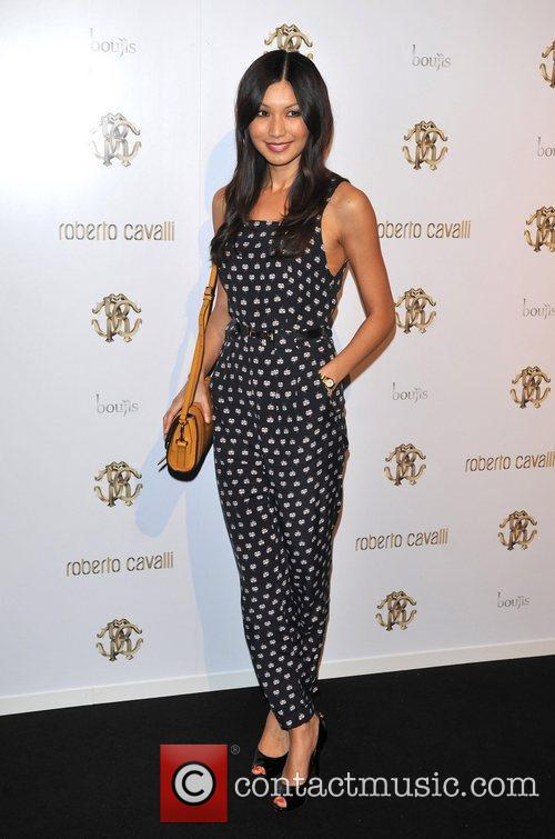 Gemma Chan London Fashion Week Spring/Summer 2012 -...
