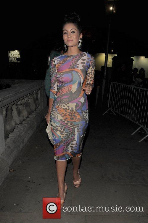 Yasmin and London Fashion Week 5