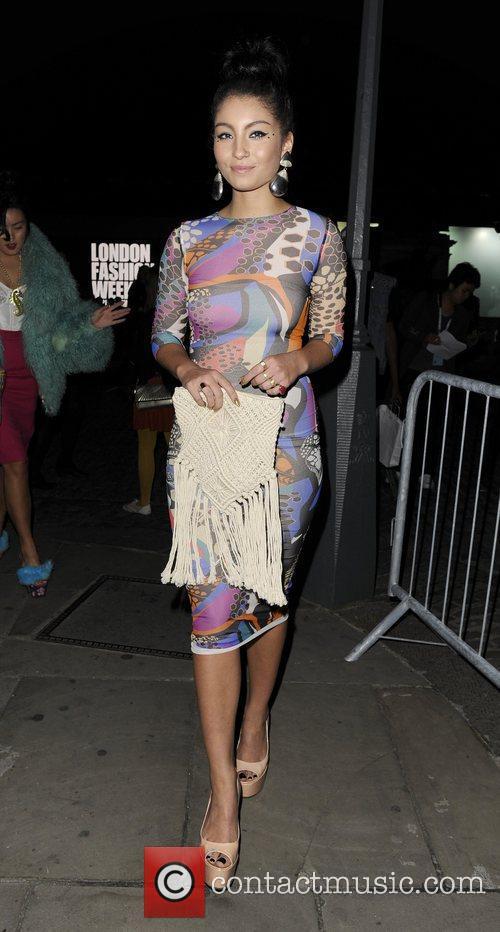 Yasmin and London Fashion Week 10
