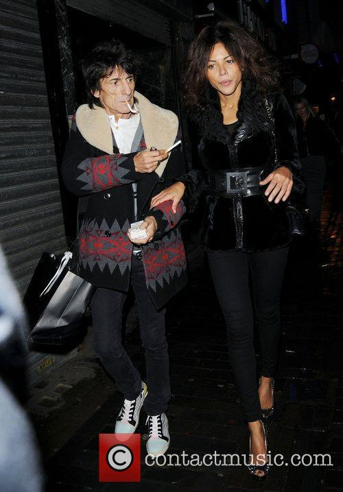 Ronnie Wood and London Fashion Week 2