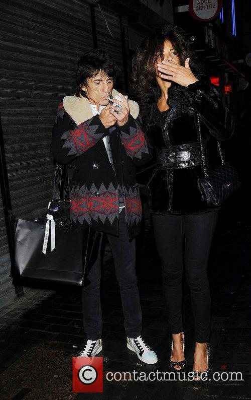 Ronnie Wood and London Fashion Week 6