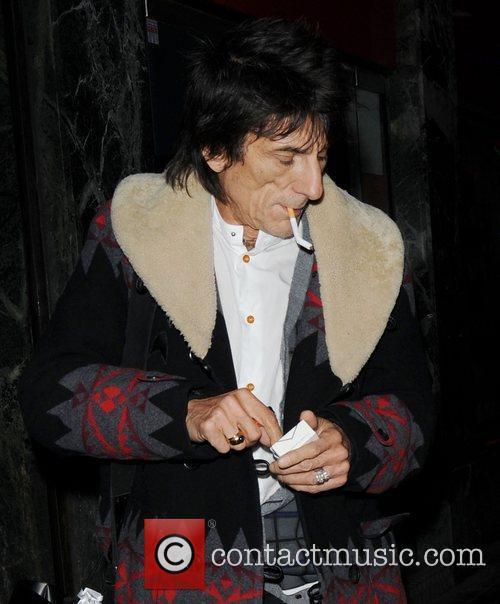 Ronnie Wood and London Fashion Week 3