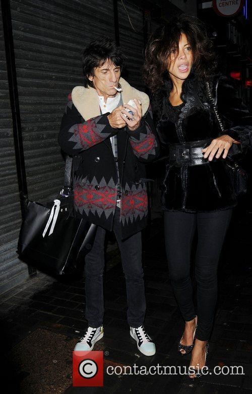 Ronnie Wood and London Fashion Week 4