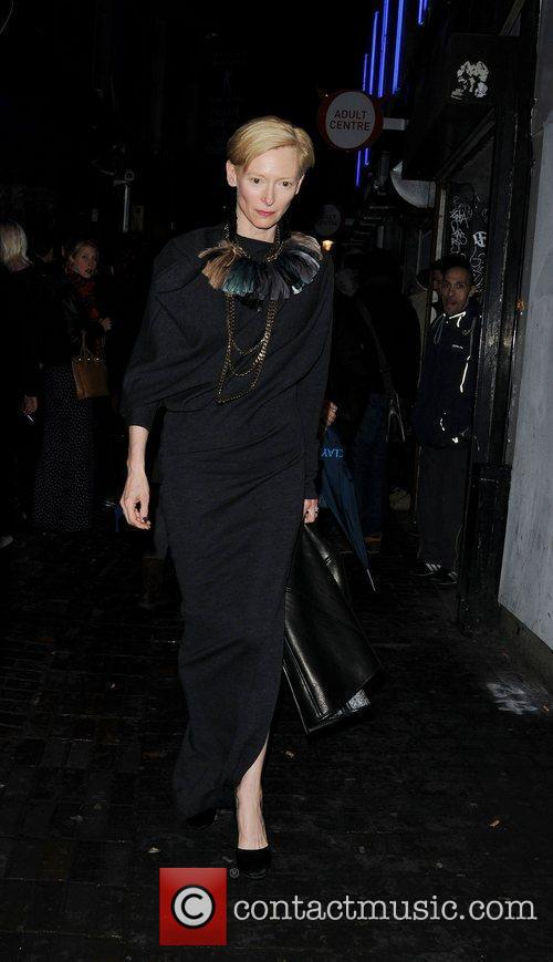 Tilda Swinton and London Fashion Week 2