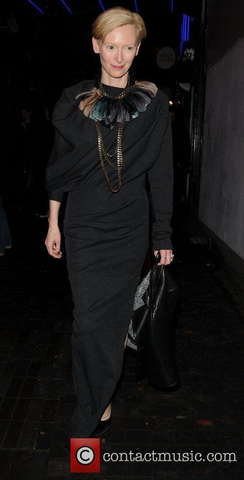 Tilda Swinton and London Fashion Week 3