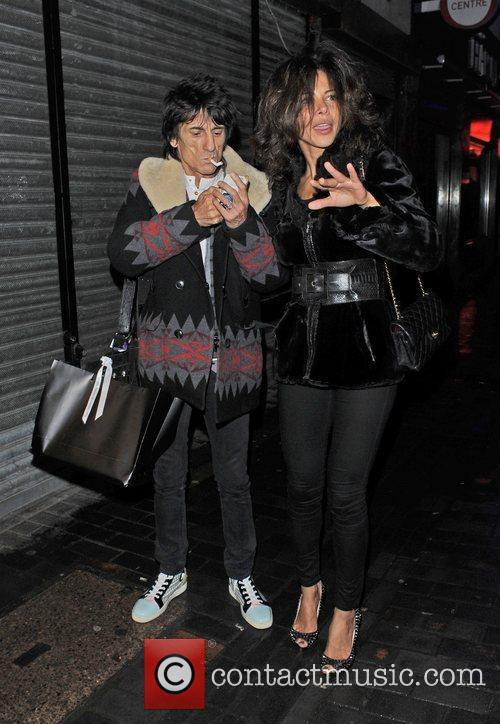 Ronnie Wood and London Fashion Week 8