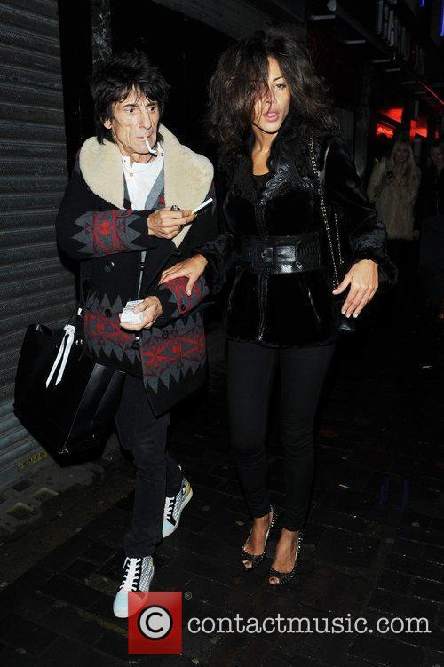 Ronnie Wood and London Fashion Week 1