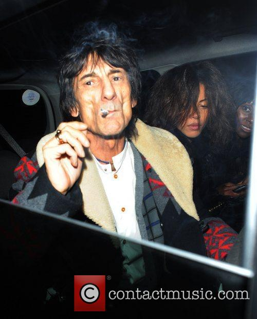 Ronnie Wood and London Fashion Week 7