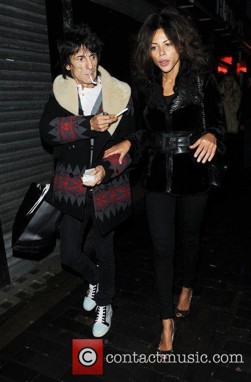 Ronnie Wood and London Fashion Week 9