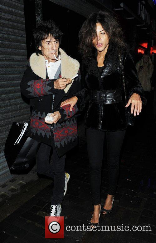 Ronnie Wood and London Fashion Week 11