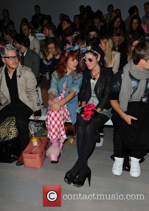 Paloma Faith, Marina And The Diamonds, Marina Diamandis and London Fashion Week