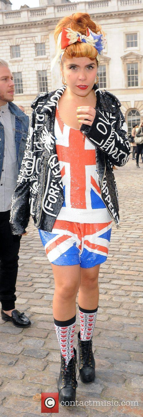 Paloma Faith and London Fashion Week 9