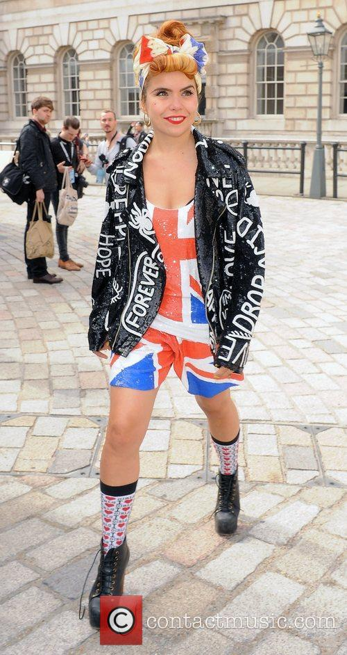 Paloma Faith and London Fashion Week 8