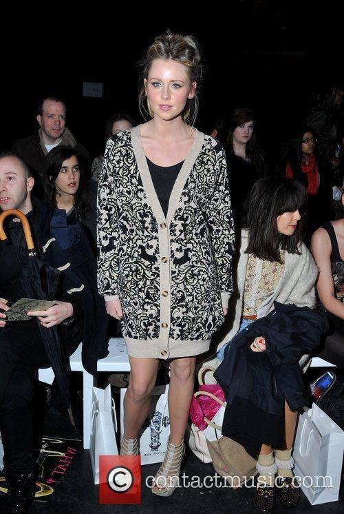 Diana Vickers London Fashion Week A/W 2011 -...