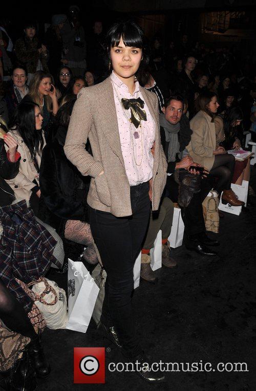 Natasha Khan London Fashion Week A/W 2011 -...