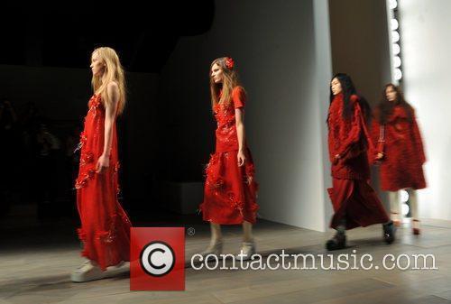 Models London Fashion Week A/W 2011 - Betty...