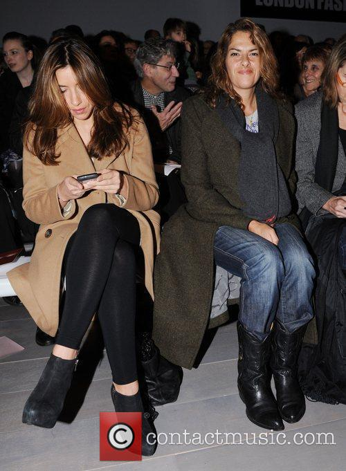 Melanie Blatt and Tracey Emin  London Fashion...