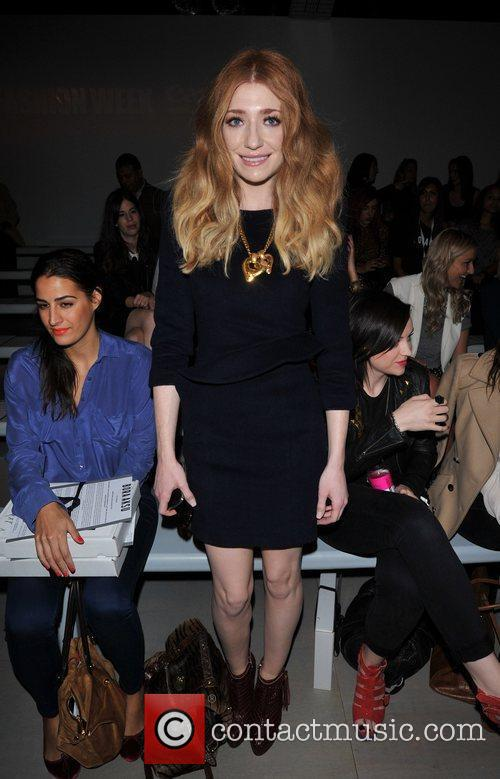 Nicola Roberts and London Fashion Week 4