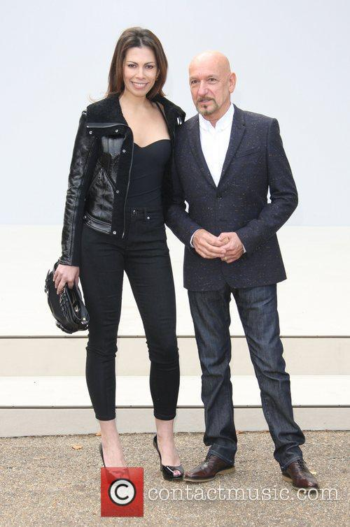 Ben Kingsley and London Fashion Week 5