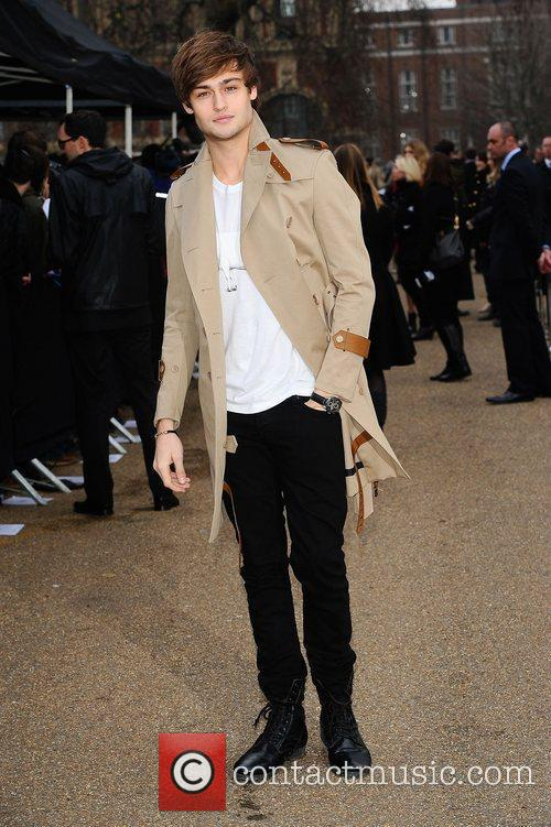 Douglas Booth and London Fashion Week 11