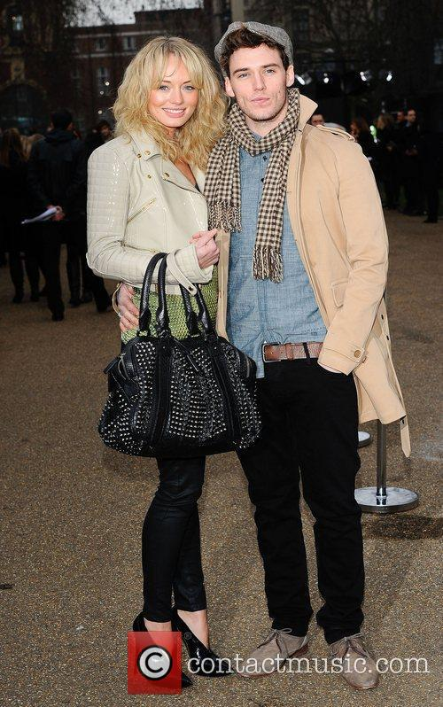 Sam Claflin and London Fashion Week