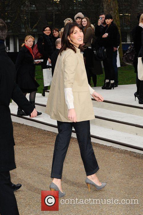 Samantha Cameron and London Fashion Week 7