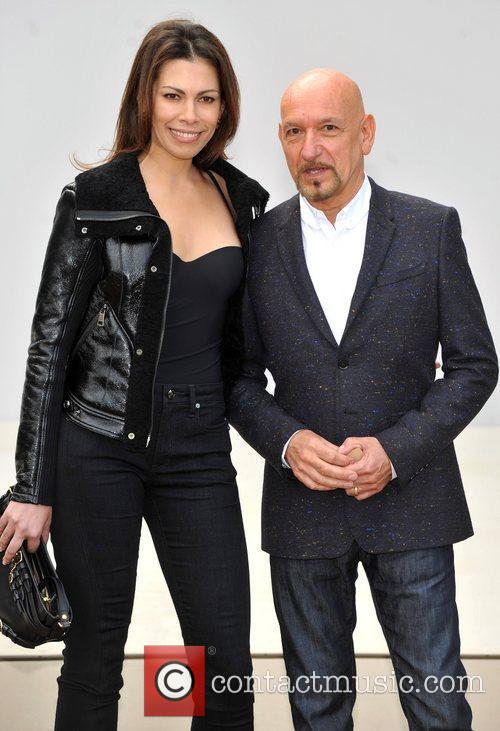 Ben Kingsley and London Fashion Week 2