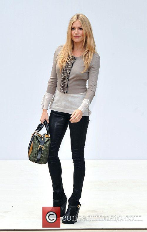 Sienna Miller and London Fashion Week 2