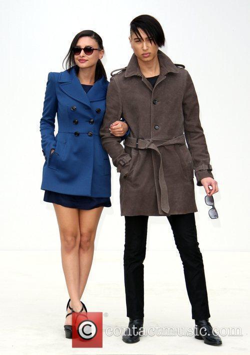 Leah Weller And Natt Weller and London Fashion Week 2