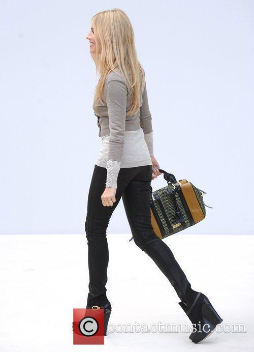 Sienna Miller and London Fashion Week 7
