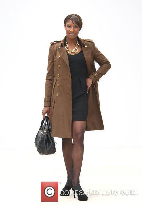 Denise Lewis and London Fashion Week 1