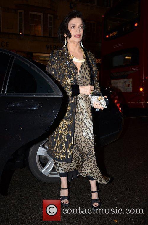 Bianca Jagger London Fashion Week Spring/Summer 2012 -...
