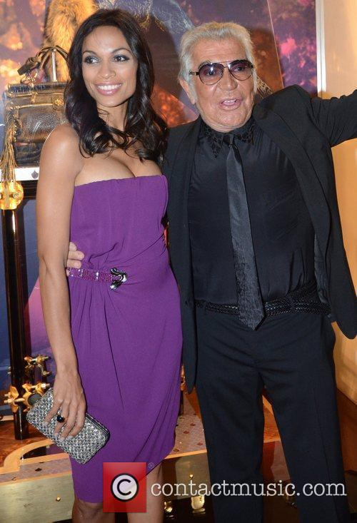 Rosario Dawson, Roberto Cavalli and London Fashion Week 3