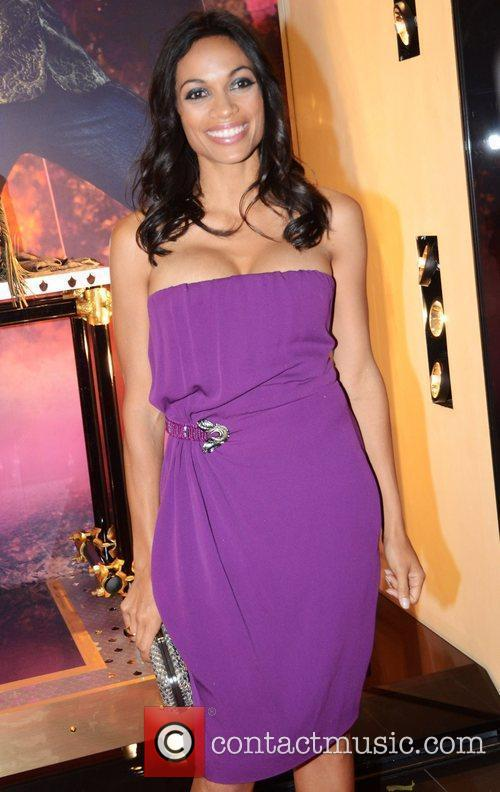 Rosario Dawson and London Fashion Week 2