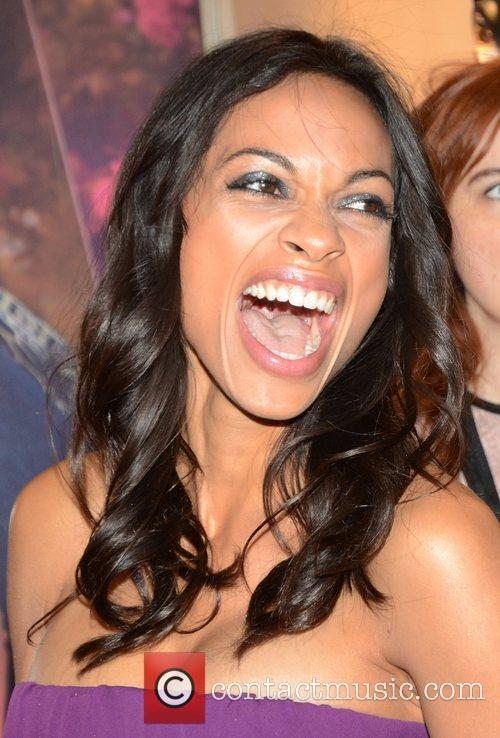 Rosario Dawson, Roberto Cavalli and London Fashion Week 4