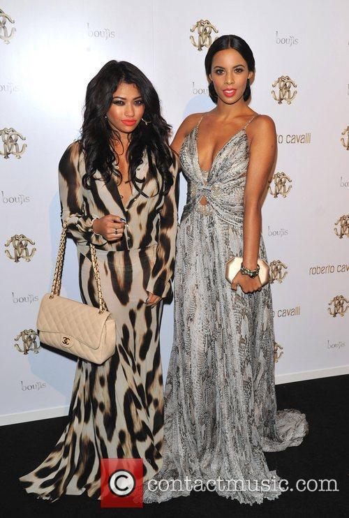 Rochelle Wiseman and Vanessa White London Fashion Week...