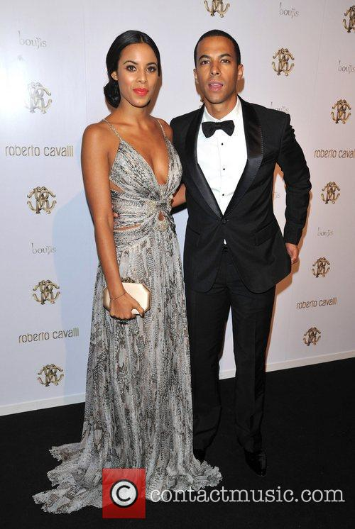 Rochelle Wiseman and Marvin Humes London Fashion Week...