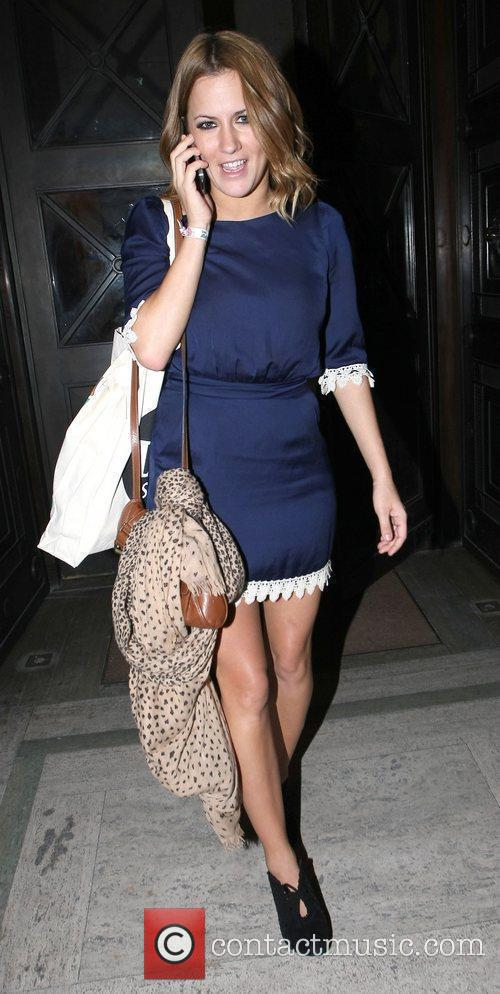Caroline Flack London Fashion Week A/W 2011: Somerset...