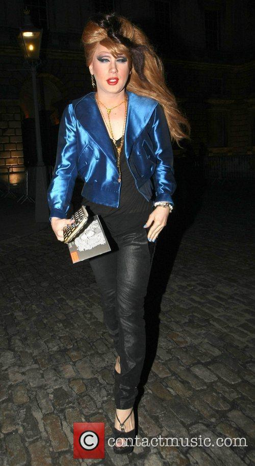 Jodie Harsh London Fashion Week A/W 2011: Somerset...