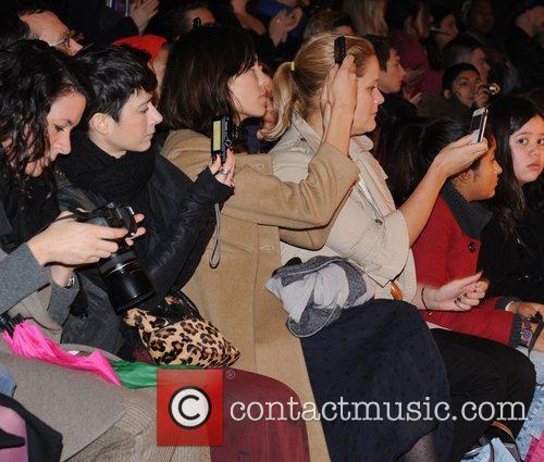 Alexa Chung London Fashion Week A/W 2011 -...