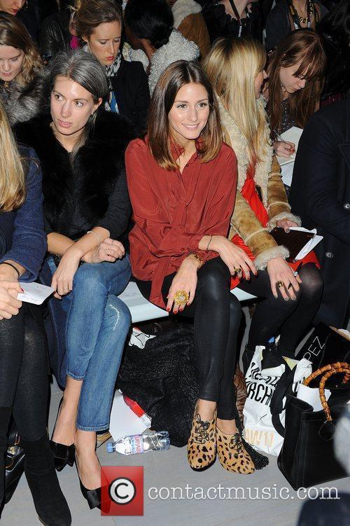 Olivia Palermo, Emilio and London Fashion Week 2