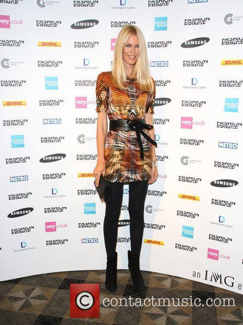 Claudia Schiffer and London Fashion Week 2