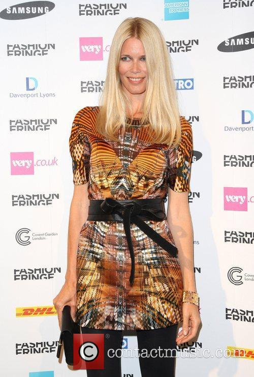 Claudia Schiffer and London Fashion Week 3