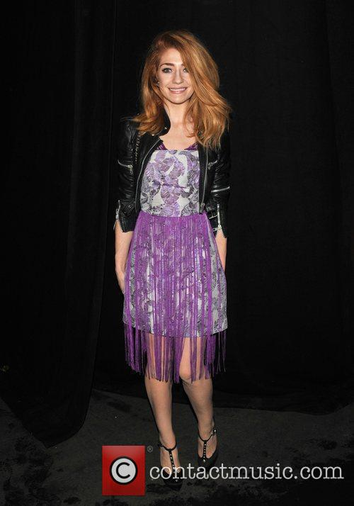 Nicola Roberts London Fashion Week A/W 2011 -...