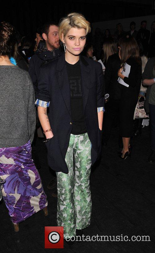 Pixie Geldof London Fashion Week A/W 2011 -...